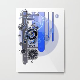 Machina Metal Print