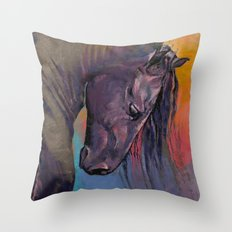 Friesian Throw Pillow