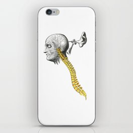 spinal column iPhone Skin
