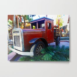 Relic of Yesteryear Metal Print