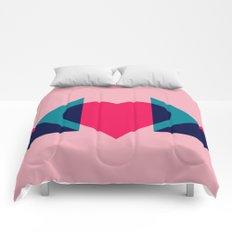 HEART MOM Comforters