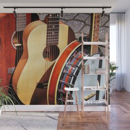 Strings Attached Wall Mural