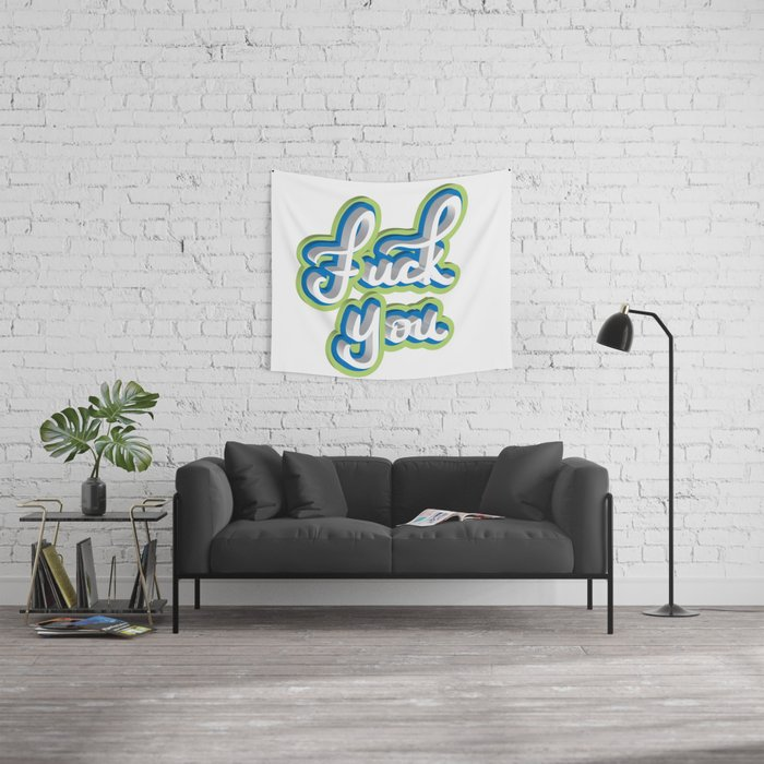 Adult Swear Word Wall Tapestry