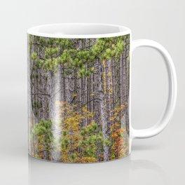 Small Saplings among a Grove of Pine Trees Coffee Mug