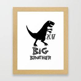 big brother dinasour Framed Art Print
