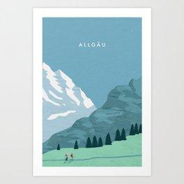 Allgäu Art Print
