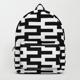 Geometric Pattern #89 (zigzag) Backpack