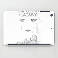 gatsby iPad Cases featuring The Great Gatsby by S. L. Fina