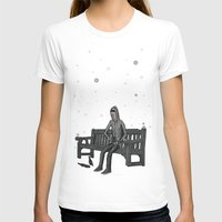 whisky T-shirts featuring snow & whisky by ASIMON