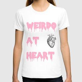 """""""Weirdo At Heart"""" T-shirt"""
