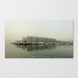 Foggy Pyrmont Canvas Print