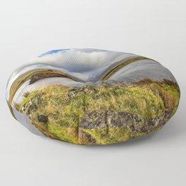 Llyn y Dywarchen Snowdonia Floor Pillow