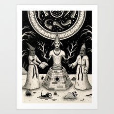 The Incantation Art Print