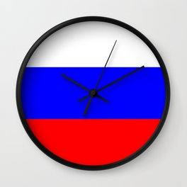 Russia country flag Wall Clock