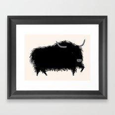 The Yak Framed Art Print
