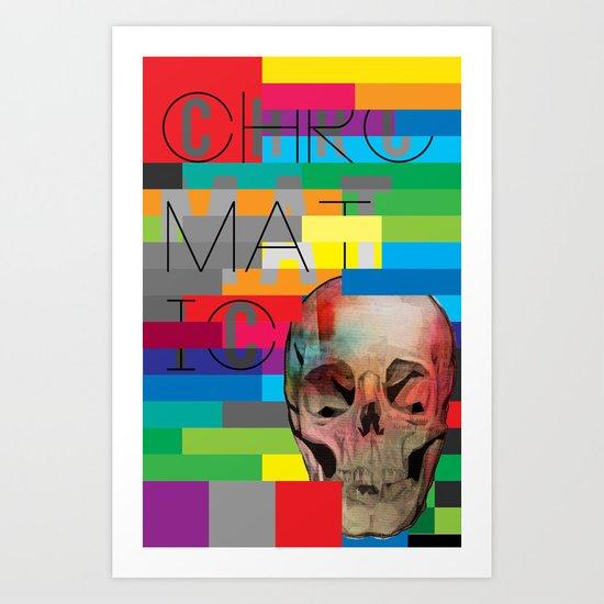 Chromatic Remix Art Print