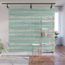 Lazy Days Wall Mural