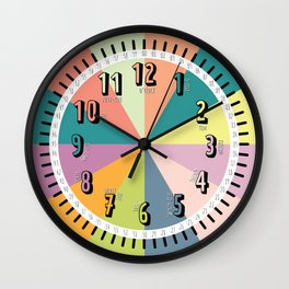 Learn to Tell Time Wall Clock