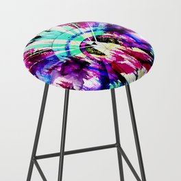 'Magic of the Woods' Illustration by Hannah Stouffer Bar Stool