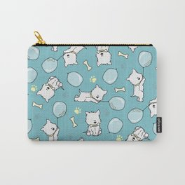 Hungry Westie Puppy Carry-All Pouch