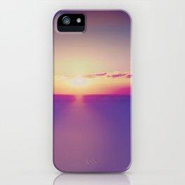 Sunset on the Atlantic Ocean iPhone Case