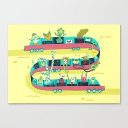 The Limo Canvas Print
