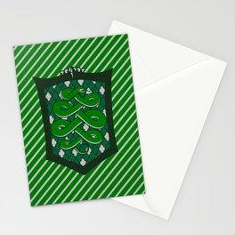 HP Slytherin House Crest Stationery Cards