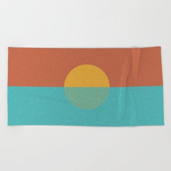 MINIMALIST_sundown Beach Towel