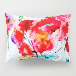 RED  #society6 #decor #buyart Pillow Sham