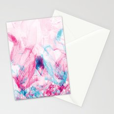 Abstract in Pink Stationery Cards