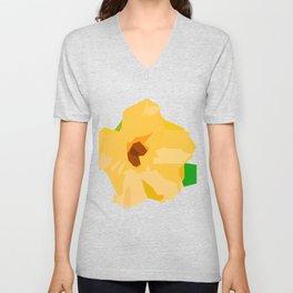 Sunflower geometric Unisex V-Neck