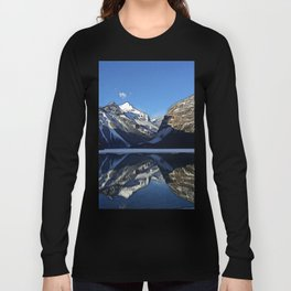 Robson: Reflection with Whitehorn Mountain Long Sleeve T-shirt