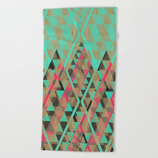 Tribal VII Beach Towel