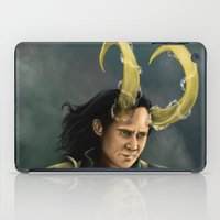 loki iPad Cases featuring Loki by toibi
