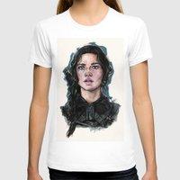 katniss T-shirts featuring Katniss Everdeen by vooce & kat