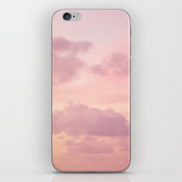 Pink Clouds iPhone Skin