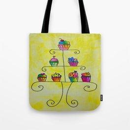 Cupcake Display Tote Bag
