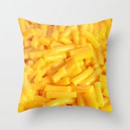 Mac n' Cheese Throw Pillow