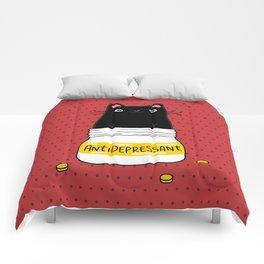 FUR ANTIDEPRESSANT Comforters