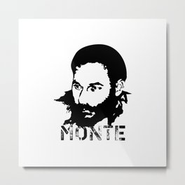 Monte Melkonyan. National Hero of Armenia #society6 #decor #buyart #artprint Metal Print