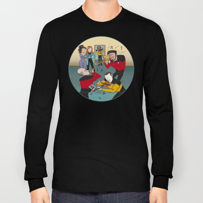 Star Trek Jam Band Long Sleeve T-shirt