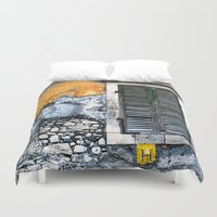 window Duvet Covers featuring window by Alfredo Rodriguez