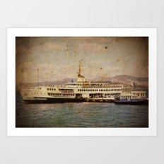 Longboattie. Art Print