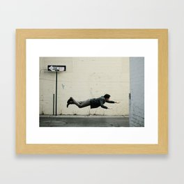 Sometimes, it's good to be different. Framed Art Print