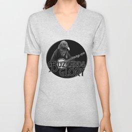 Vulture Banjo Black Unisex V-Neck