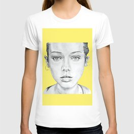 Lady Portrait T-shirt