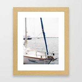 Toronto Harbourfront on Film Framed Art Print