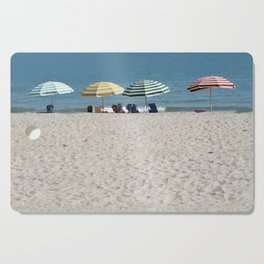 Bald Head Island Beach Umbrellas | Bald Head Island, North Carolina Cutting Board