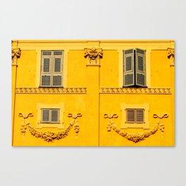 Vieux Nice Wall Canvas Print