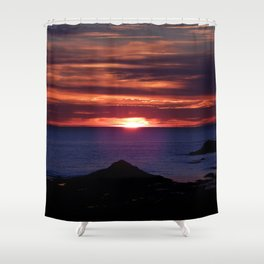 Dawn on the Sea Shower Curtain